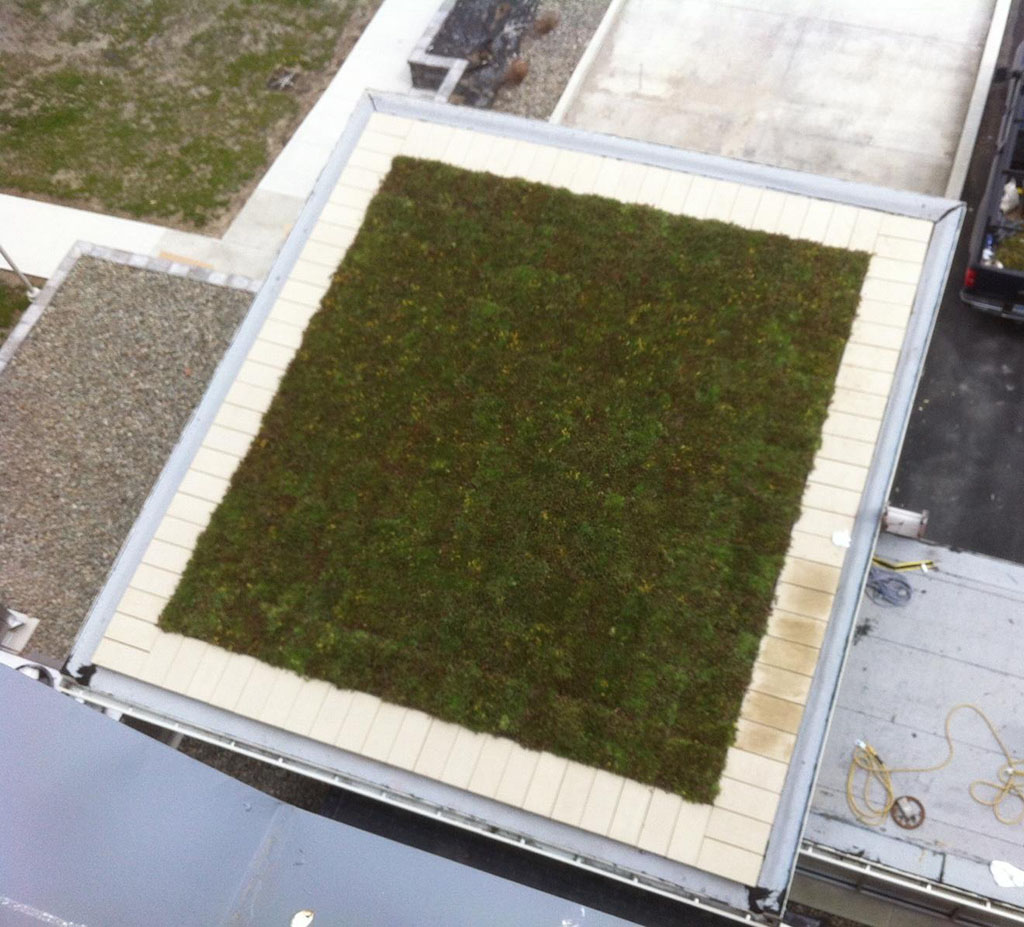 Ulster BOCES - built up roof - green roof - sheet metal A